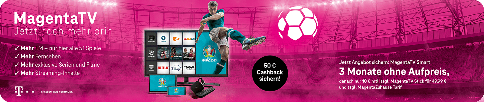 Telekom – Magenta TV EM